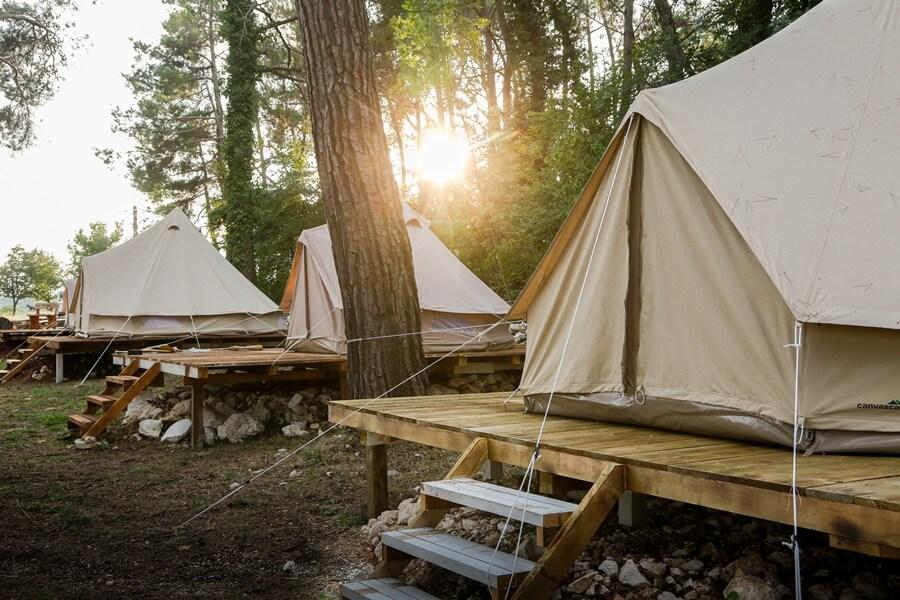 Camp Dvor bell tent