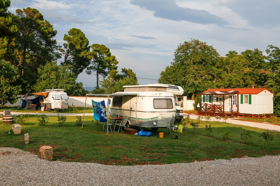 Camp Dvor camping pitch