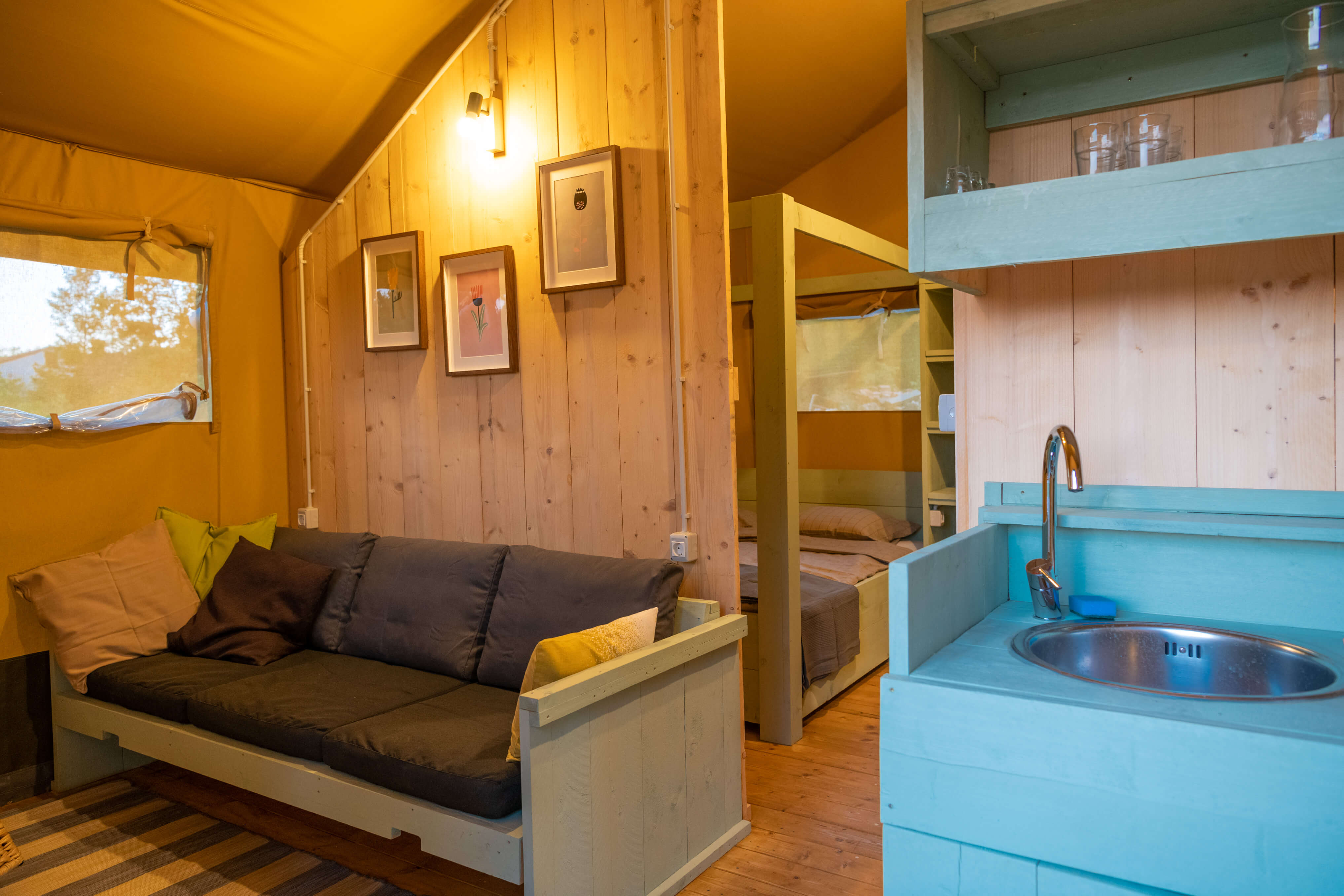 Camp Dvor Glamping tent